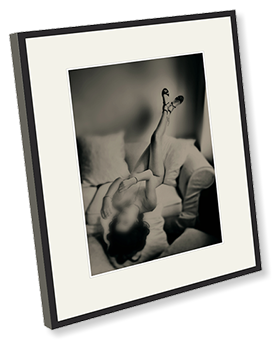 Beautiful archive quality exhibition fine art nude - boudoir photographic or digitally produced photographs in stunning frames